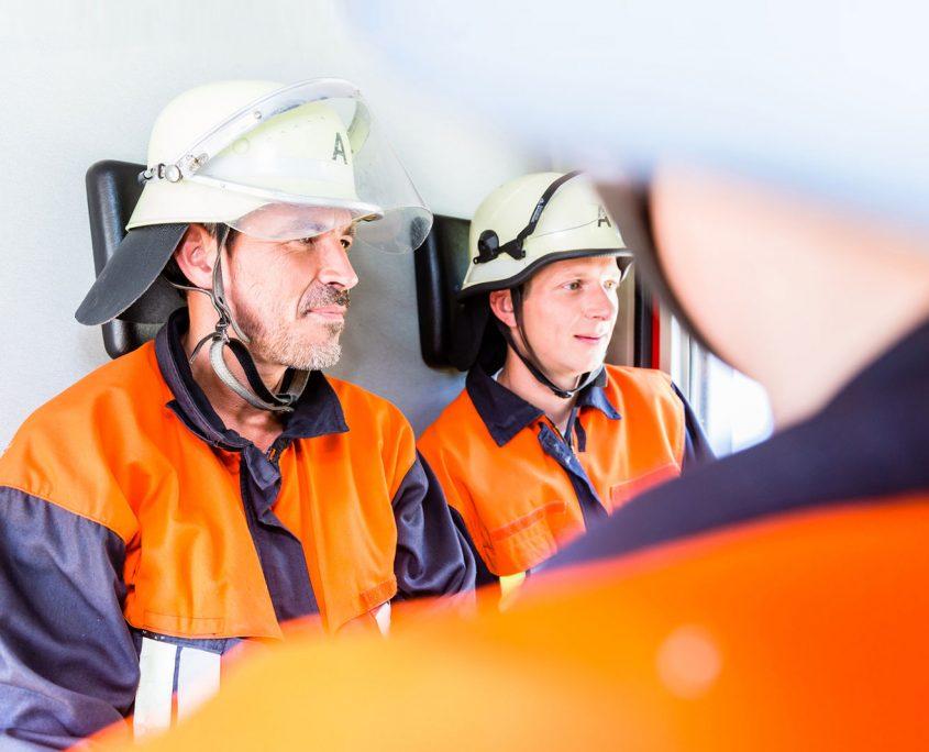 Anwendungsbeispiele Sicherheit Feuerwehrausrüstung
