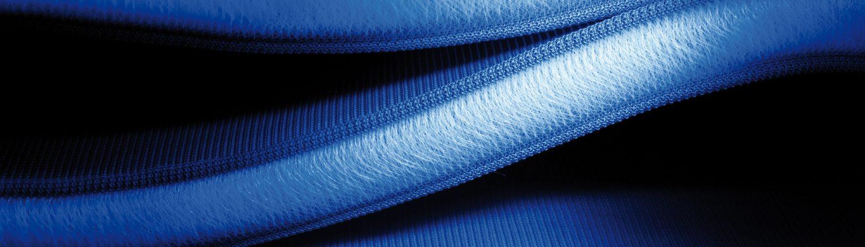 Seitenansicht Abstandsgewirke Blau