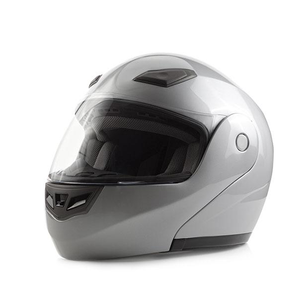 Anwendungsbeispiel Sicherheit Motorradhelm